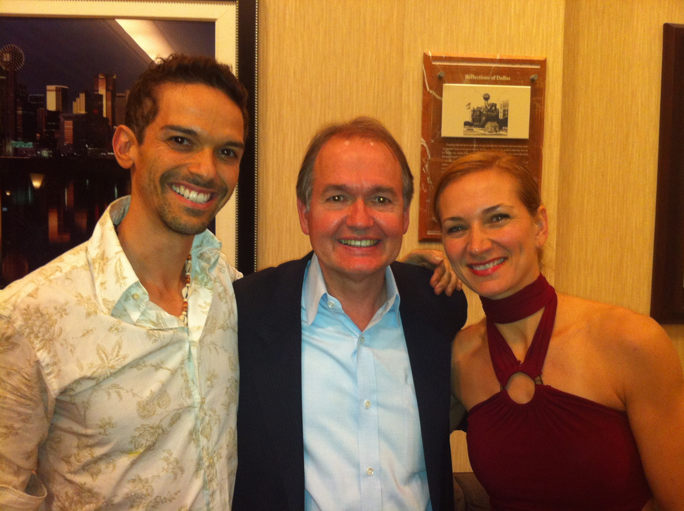 John Gray with Relationship and Dating Mentor Barry Paul Price and Anna Price